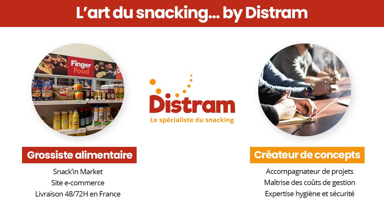 Distram : l'art du snacking